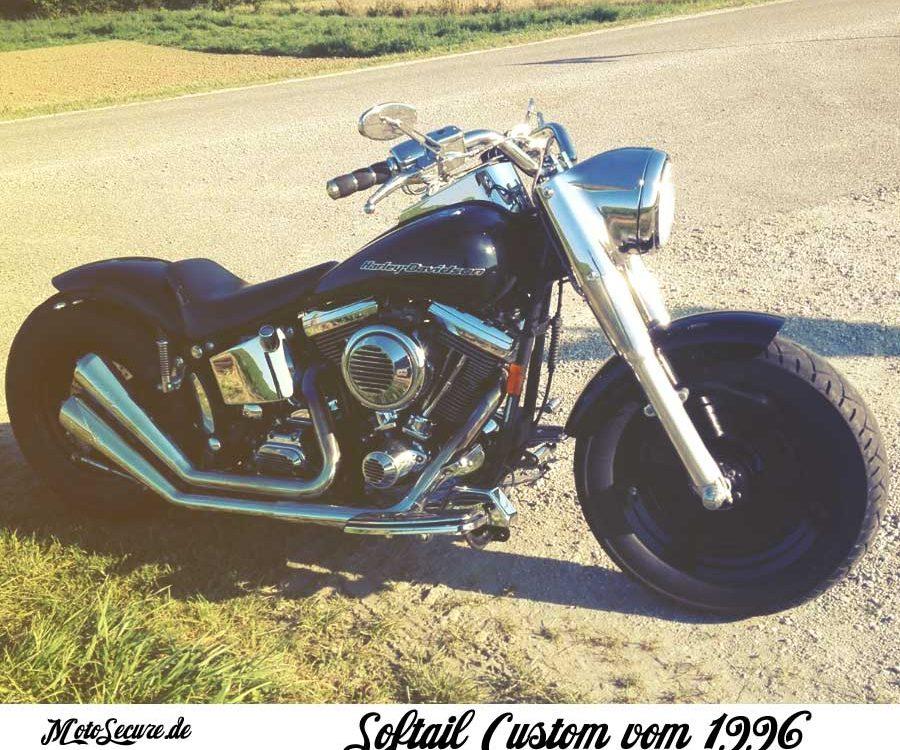 Harley Davidson Softail Custom Harley Versicherung
